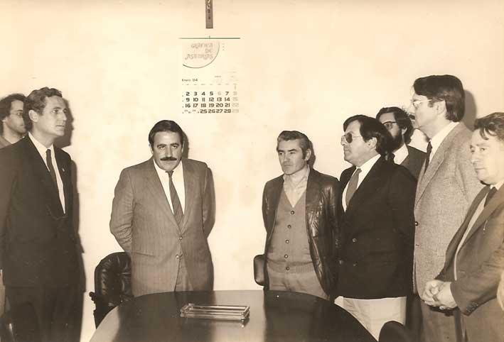 El primer alcalde la de democracia en Pedrafita