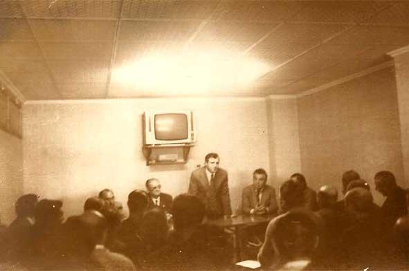 1974: reunión en el Teleclub