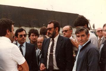 Julián Campo inaugura la nueva Nacional VI en Pedrafita