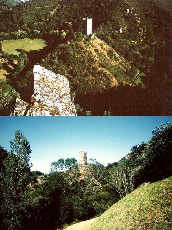 La Torre de Doncos desde dos puntos de vista