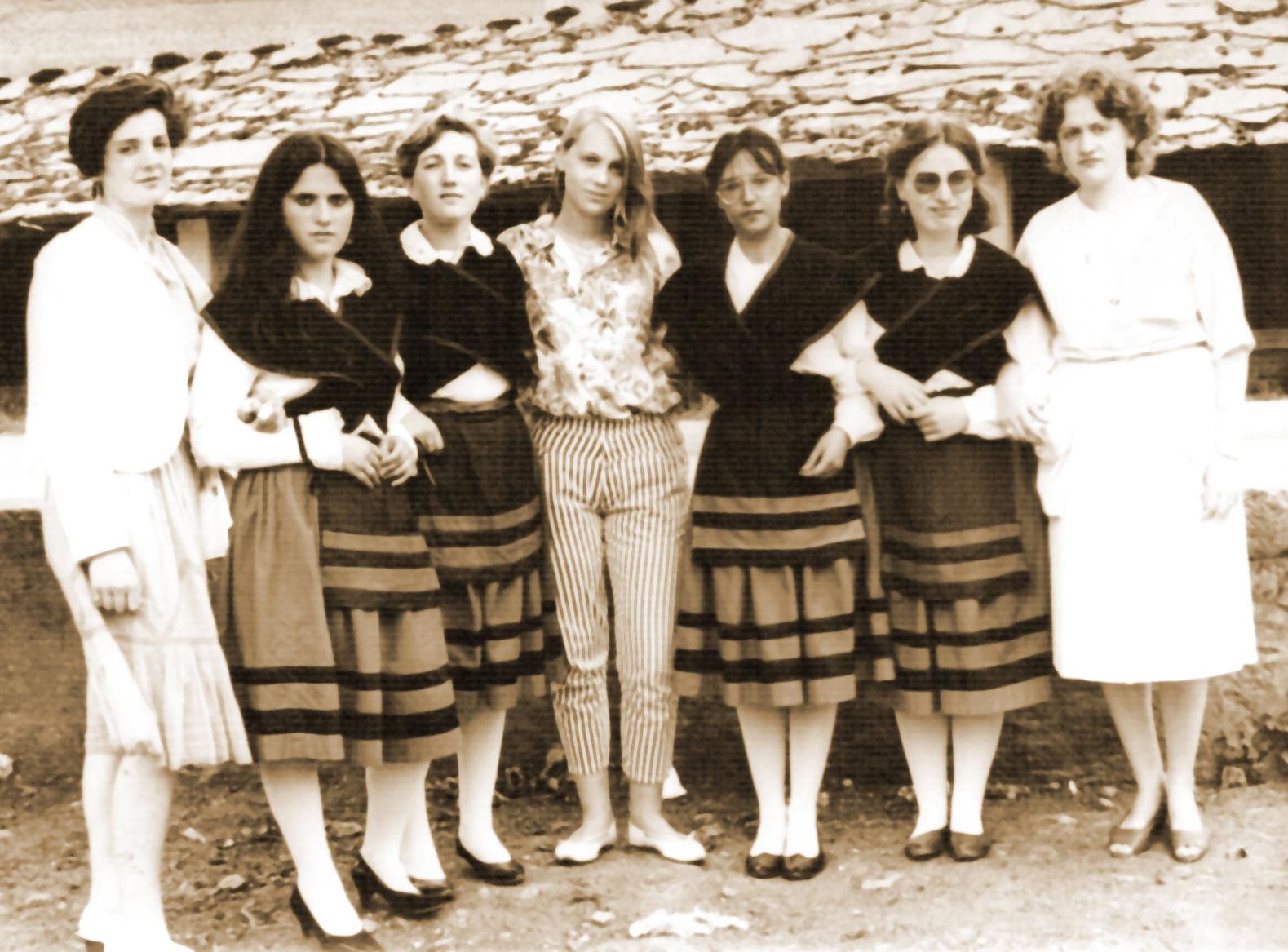 1984: Festas en Pedrafita, equipo organizador