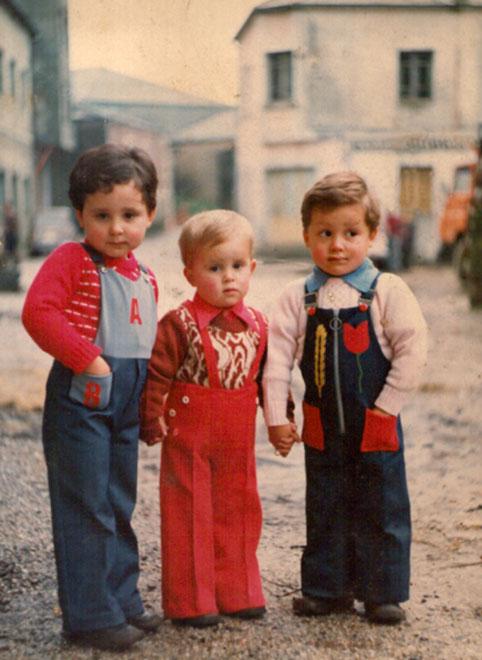 """""""Hermanos Castro"""" en 1976"""