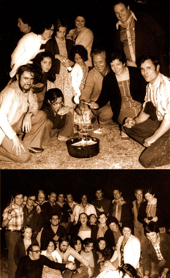 1979: Queimada para finalizar el día