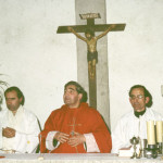 Elías Valiña Sampedro y el obispo de Lugo, Fray José Gómez