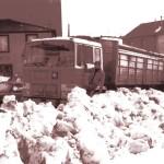 Camión en Pedrafita