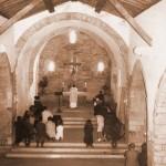 Misa en O Cebreiro en 1972